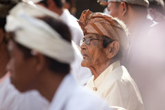 Galungan ceremony Royalty Free Stock Image