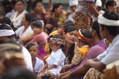Galungan ceremony Royalty Free Stock Photos