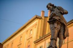 Galvani-Statue Lizenzfreie Stockbilder