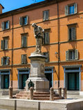 Galvani statue in Bologna, Italy Royalty Free Stock Images