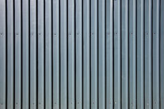 Galvanised steel fence. Modern galvanised steel wall abstract background close up stock photos