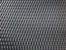 Galvanised steel grid Stock Images