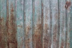 Galvaniseer, strijk bladachtergrond Stock Afbeeldingen