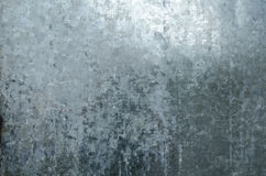 Galvaniserad metallbakgrundstextur Royaltyfri Foto