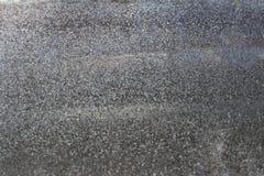 Galvaniserad textur för bakgrund för stålplatta på väggen Royaltyfria Bilder