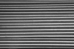 galvaniserat stapelrør Arkivfoton