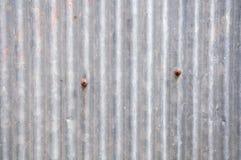 Galvanisierte Eisenplatte des Zinks Rusted Lizenzfreie Stockbilder