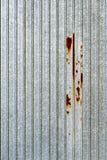 Galvanisierte Metallbeschaffenheit lizenzfreies stockbild