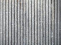Galvanisierte Stahldach-Platte Stockfoto