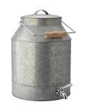 Galvanisierter Getränke-Automat mit Beschneidungspfad Stockfotografie