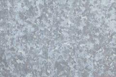 Galvanisiertes Blatt des Metalls Stockfotos