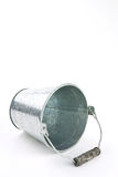 Galvanized bucket Stock Image