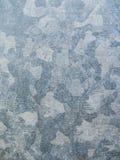 Galvanized chapeou o fundo da superfície de metal imagem de stock royalty free
