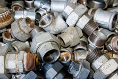 Galvanized fittings. 