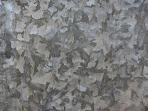 Galvanized iron roof plate background pattern Stock Photos