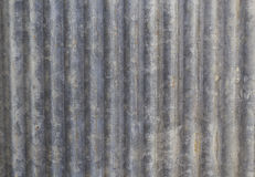Galvanized iron sheet texture Stock Photography
