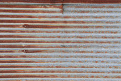 Galvanized iron steel plates with rust Stock Images