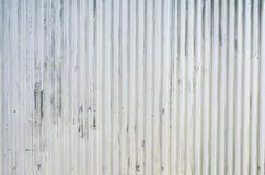 Galvanized iron wall Royalty Free Stock Photo