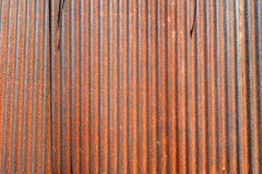 Galvanized iron wall Stock Images