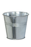Galvanized metal bucket Royalty Free Stock Image