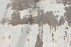 Galvanized metal paint chipping Stock Images