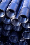 Galvanized pipes Royalty Free Stock Images