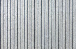 Galvanized sheet - Corrugated metal surface texture with copy space. Royalty Free Stock Images
