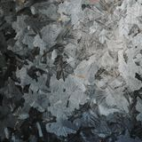 Galvanized sheet surface Royalty Free Stock Photo