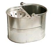 Galvanized Steel Bucket (Inc Clipping Path) Stock Image