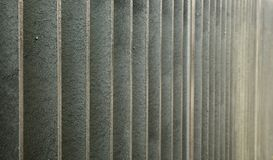 Galvanized Steel wall Royalty Free Stock Photos