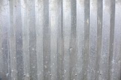 Galvanized Wavy Metal Roofing Background Texture. Galvanized metal roofing texture background. A great texture background for graphic design, web design and film royalty free stock photo