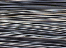 Galvanized wire rope Stock Photo