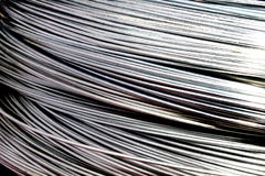 Galvanized Wire Royalty Free Stock Image