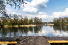 Galve Lake View Royalty Free Stock Photo