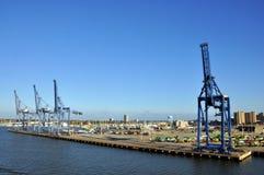 порт galveston Стоковая Фотография