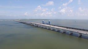 Galveston Causeway Stock Image