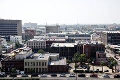 Galveston island panoramic view Royalty Free Stock Photography