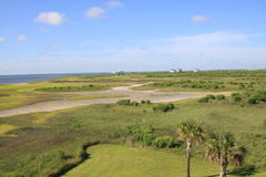 Galveston Shore Line Stock Photos