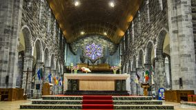 Galway καθεδρικός ναός στοκ εικόνα