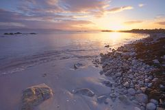 Galway Bay. Sunlight on Galway Bay, Republic Of Ireland stock images
