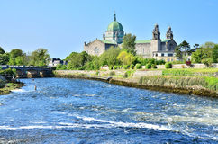 Galway Cathedral. The Cathedral of Our Lady Assumed into Heaven and St Nicholas in Galway (Galway Cathedral Stock Image