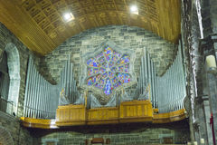 Galway cathedral - harmonium Stock Images