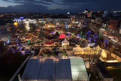 Galway Continental Christmas Market Stock Image