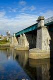 Galway-Eisenbahnbrücke Lizenzfreie Stockbilder