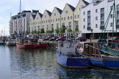 Galway Fishing Fleet Royalty Free Stock Photography
