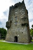 GALWAY, IRELAND - AUGUST 22, 2017: Aughnanure Castle in Ireland near Galway Royalty Free Stock Photography