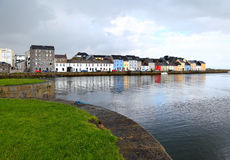 Galway, Ireland. Galway on the Corrib river in western Ireland Stock Photos