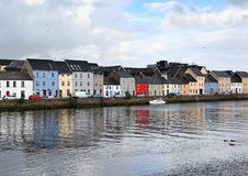 Galway, Ireland. Galway on the Corrib river in western Ireland Royalty Free Stock Images