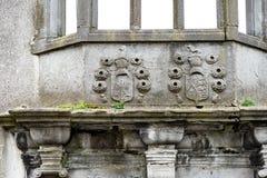 GALWAY, IRLANDA - 22 DE AGOSTO DE 2017: Arquitetura do centro da cidade da Irlanda de Galway Imagens de Stock Royalty Free
