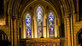 Galway Cathedral. Galway Old Cathedral - East Ireland Royalty Free Stock Photos